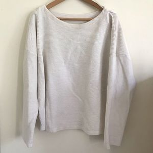 MAEVE Anthropologie White Sweater